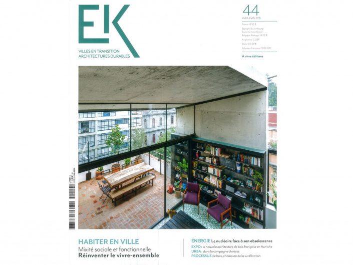 EcologiK n°44 - Avril/Mai 2015