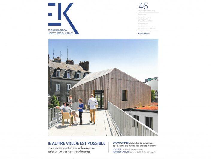 EcologiK n°46 - Août/Sept. 2015