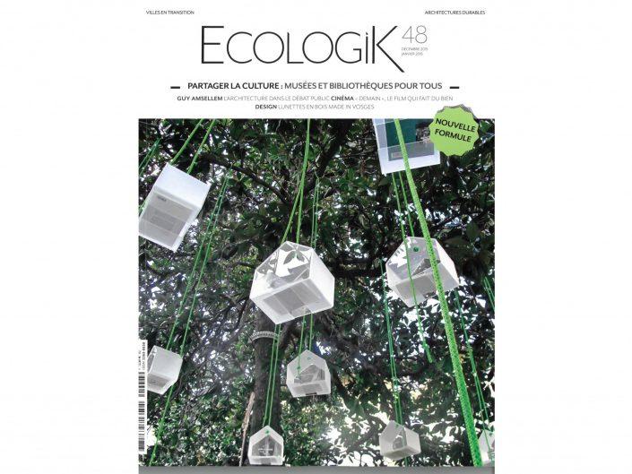 EcologiK n°48 - Déc/Janvier 2016